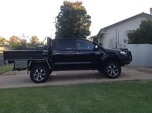 Toyota SR5 Hilux Black Limited Edition 2014 Moree Moree Plains Preview