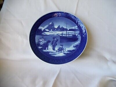 Royal Copenhagen Christmas plate 1998