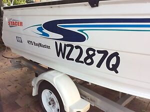 Stacer 479 Baymaster Family fishing/leisure/runabout Thorneside Redland Area Preview