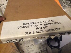 1957-1969 NOS HD XLH XLCH Sportster Complete Set Motor Gaskets