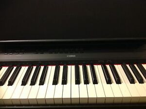 Yamaha digital Piano P-115 with pedal keys Stand and stool Toowong Brisbane North West Preview