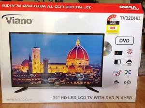 """VIANO 32"""" LED LCD TV WITH BUILT IN DVD PLAYER + REMOTE Regents Park Auburn Area Preview"""
