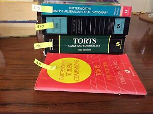 Law text books Goolwa Alexandrina Area Preview