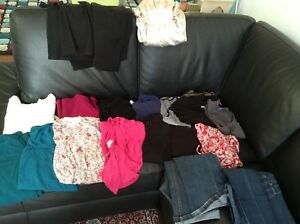 Lot of size S maternity clothes