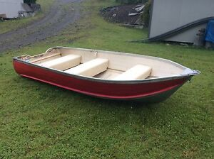 12ft Harbercraft Aluminum Boat and 2 stroke motor for sale