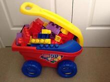 Blocks, Wagon & 3 Little People Geraldton 6530 Geraldton City Preview