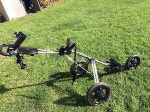 BAG BOY three  wheeled golf cart