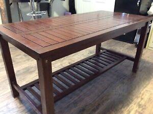Table basse/table à café en teck