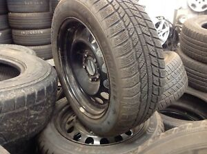set of brand new winter tires205 55 16 with their rim