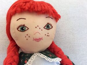 Beautiful Handcrafted Anne of Green Gables Doll