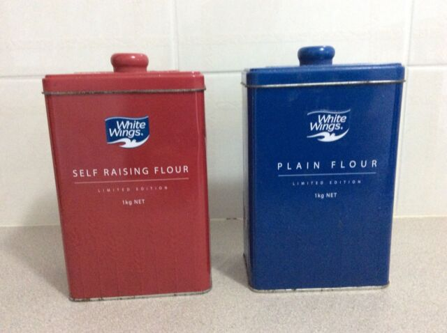 White Wings Flour Tins Sr Plain Collectables Gumtree