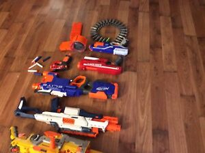 A very good collection of Nerf guns