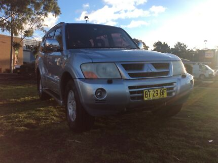 2003 Mitsubishi Pajero Exceed 3.8 Auto 4x4 7 Seat. Fully Optioned Leumeah Campbelltown Area Preview