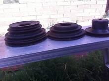 cleaveland crank, water pump pulleys x3 Bacchus Marsh Moorabool Area Preview