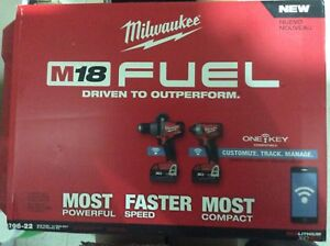 M18 FUEL, ONE-KEY combo kit