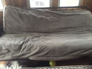 Free futon and tube tv and stand