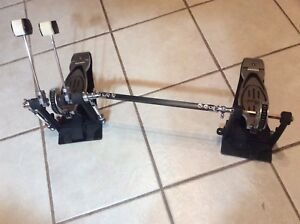 Pearl double drum pedals