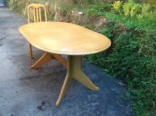 Six seater dining table and chairs Bilgola Pittwater Area Preview