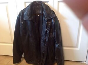 XL Genuine Leather Bomber Jacket