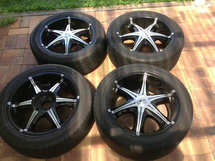 Navara d40 wheels and tyres