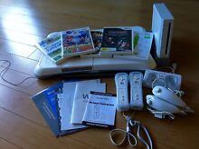 Wii Entertainment Pack (inc. Wii Fit, Recharge Dock, 5 games) Seaford Meadows Morphett Vale Area Preview
