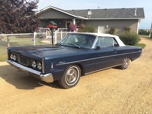 Classic Car -1965 Meteor Montcalm Convertible For Sale