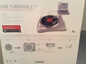 USB turntable. New never used