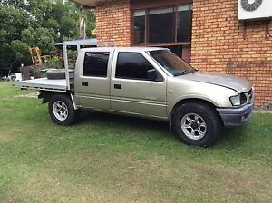 2002 Holden Rodeo Ute LX CREWCAB Ute  R9 4X4 Currumbin Waters Gold Coast South Preview