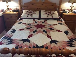 Quilts and accessories, ideal for a B&B