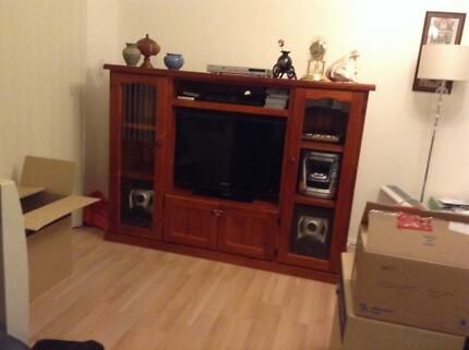 TV Cabinet and Entertainment Unit- Must Sell!!! Good condition! Hurstville Hurstville Area Preview