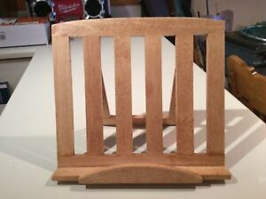 Bamboo Stand for book or iPad.