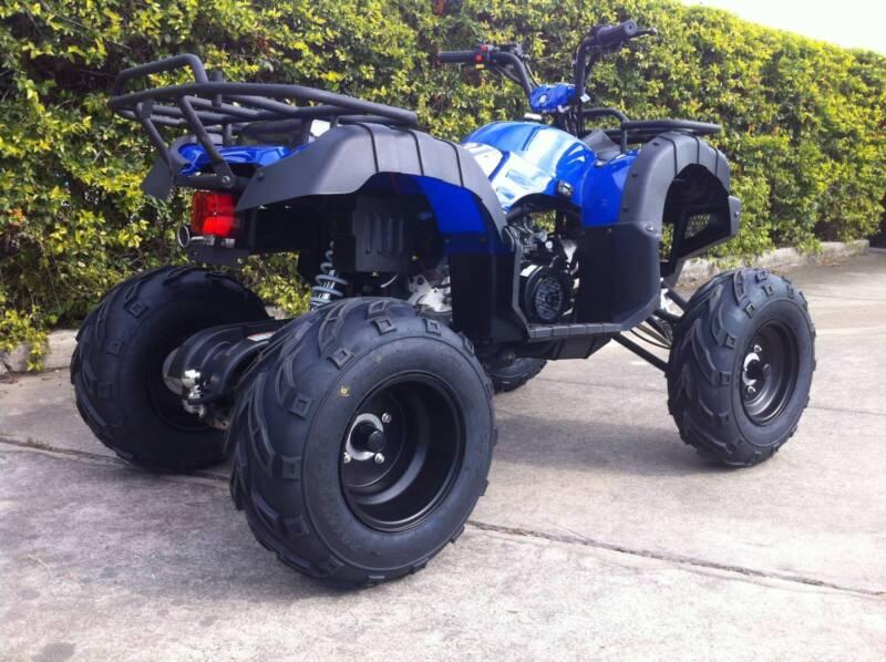 200CC BUSHMAN FARM QUAD - FULL AUTO - TOW BAR | Quads, Karts