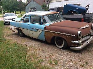 1955 dodge regent 2 door rare car