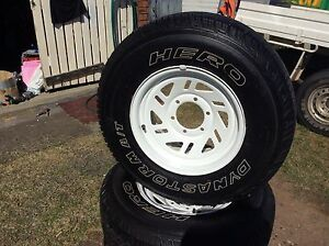 Sunraysia rims with tyres Kingsthorpe Toowoomba Surrounds Preview