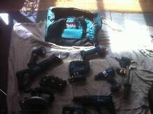 Makita 18v Lithium Ion cordless 8 tools combo kit Rowville Knox Area Preview