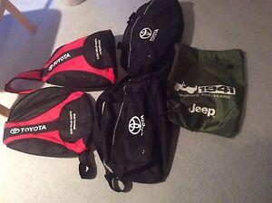 5 sling backpacks & Duffel bags Toyota New