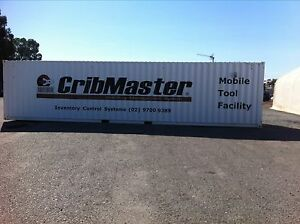 Cribmaster 40' mobile tool facility. As new . Kenwick Gosnells Area Preview