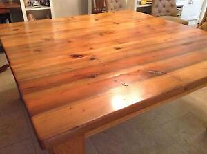 Solid Wood Dining Table Eltham North Nillumbik Area Preview