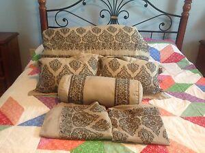 Six piece comforter set