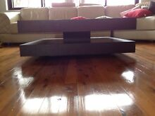 Modern design large coffee table- Chocolate color Mount Lewis Bankstown Area Preview