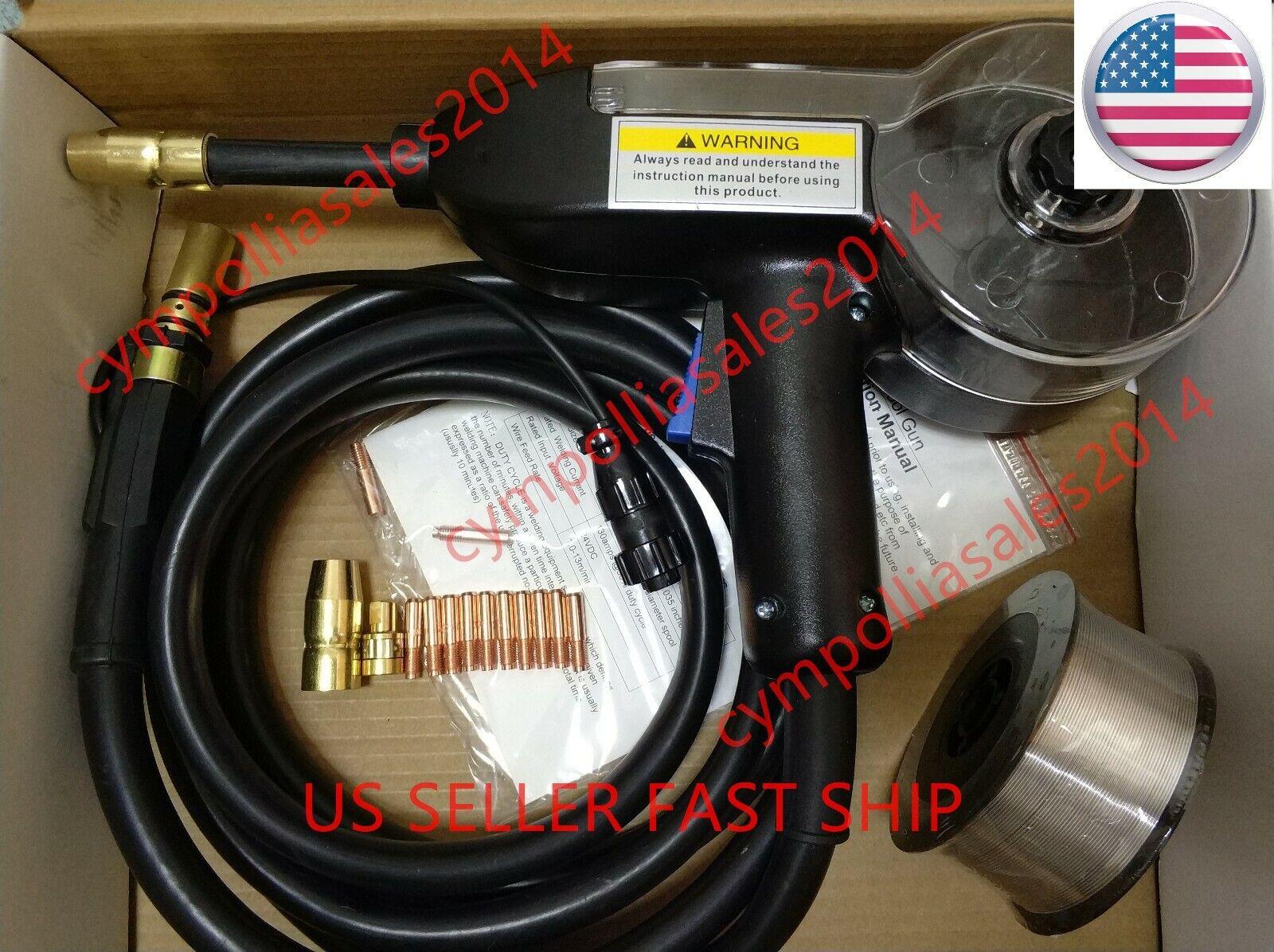US SELLER 10' MIG Spool gun Miller Spoolmate 100/Spoolmate 1