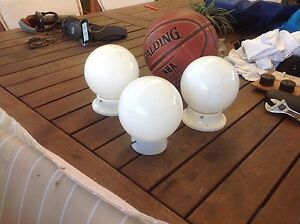 Three light shades Hampstead Gardens Port Adelaide Area Preview