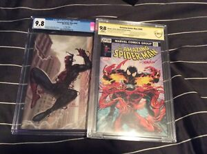 Selling Off 7 CGC Graded Amazing Spider-Man Variants All 9.8!!