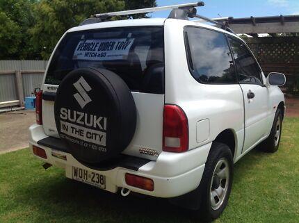 Suzuki Grand Vitara and Hitch n Go A Frame towing system