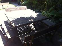 Outdoor dining set Sydenham Marrickville Area Preview