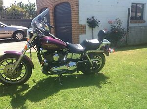 1996 HARLEY DAVIDSON DYNA CONVERTIBLE FXDS Warrnambool Warrnambool City Preview