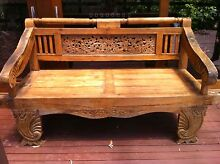 Balinese Day Bed Solid Teak Arcadia Hornsby Area Preview