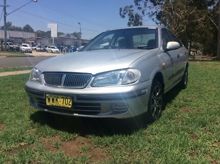 2000 Nissan Pulsar N16 4 Cyl Manual Sedan Tidy and reliable Leumeah Campbelltown Area Preview