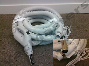 30' 110 volt Electric Universal central vacuum hose - Vacuflo Beam Nutone MD
