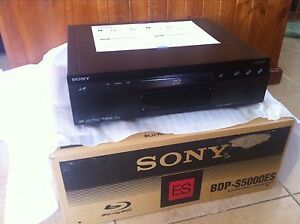 New Sony BDP-S5000ES high-end Blu-Ray player Bonnyrigg Fairfield Area Preview